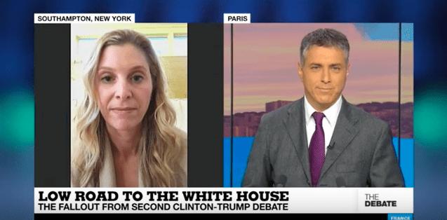 Lauren Leader Chivee on France24