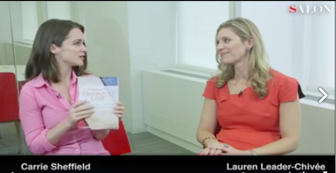 Lauren Leader Chivee on Salon Talks with Carrie Sheffield