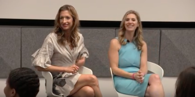 Lauren Leader-Chivée and Alysia Reiner discuss Crossing the Thinnest Line at Google Talks